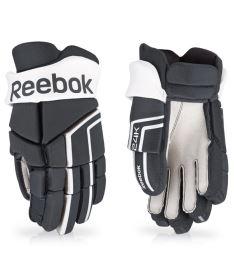 """Hokejové rukavice REEBOK 24K black/white - 13"""""""