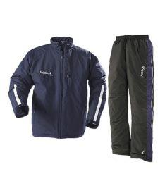 REEBOK WINDBREAKER Padded Suit black - XL