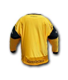 OXDOG BLOCKER GOALIE SHIRT orange/black L - Brankářský dres