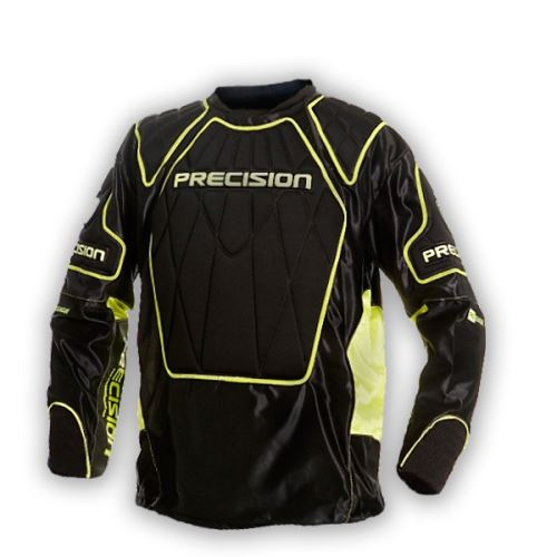 PRECISION GOALIE JERSEY #1 black/yellow senior