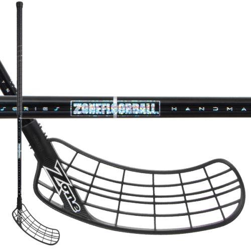 ZONE STICK SUPREME AIR SL 28 black/hologram 96cm L - florbalová hůl