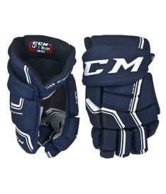 Hokejové rukavice CCM QUICKLITE navy/white senior - 14