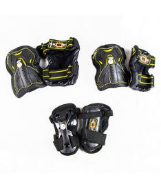 ROLLER DERBY IN-LINE SKATE GUARD TRI PACK - M - In-line brusle