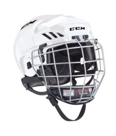 Hokejová helma CCM FITLITE 40 Combo SR white