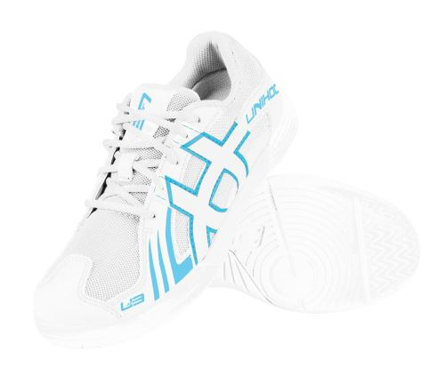 UNIHOC Shoe U3 Junior Unisex white/blue US3/UK2/EUR34 - Obuv