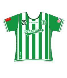FREEZ JERSEY SUBLI LADIES - FBŠ BOHEMIANS 19 - white/green