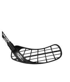 SALMING Hawk PowerLite Oval KZ JR Black 92 (103 cm)