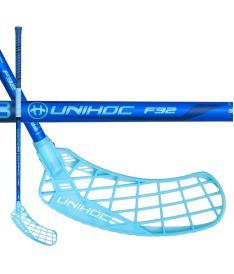 UNIHOC STICK EPIC 32 blue 92cm