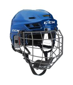 Hokejová helma CCM TACKS 310 Combo SR royal
