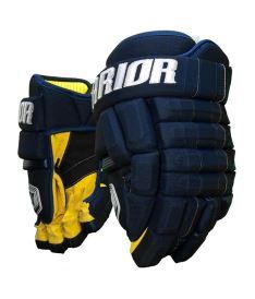 "Hokejové rukavice WARRIOR BONAFIDE X navy senior - 14"""