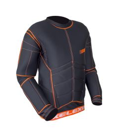 EXEL S100 PROTECTION SHIRT black/orange XL - Chrániče a vesty