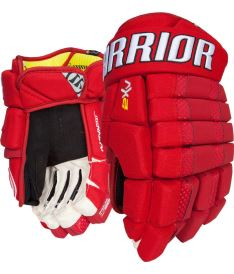 "Hokejové rukavice WARRIOR DYNASTY AX2 red - 14"""