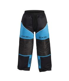 EXEL TORNADO GOALIE PANTS black/blue