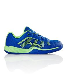SALMING SHOES VIPER 3 KID laces royal/geckogreen