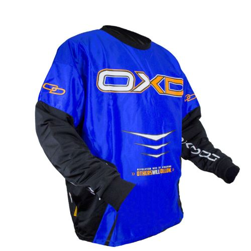 OXDOG GATE GOALIE SHIRT blue 150/160 (padding) - Brankářský dres