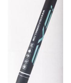 EXEL PURE XIX BLACK-MINT 2.6 101 ROUND MB R - florbalová hůl