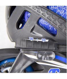 ROLLER DERBY IN-LINE SKATES TRACER s chrániči - 6-13 (30-33) - In-line brusle