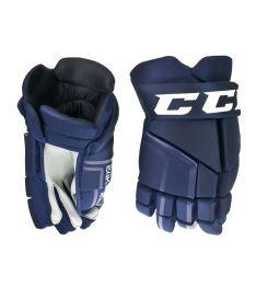 """Hokejové rukavice CCM 24K navy junior - 12"""""""