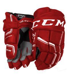 Hokejové rukavice CCM QUICKLITE 270 red/white senior