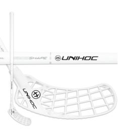 UNIHOC STICK ICONIC Oval Light 26 white/silver