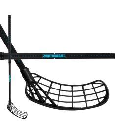 ZONE STICK MAKER AIR 29 black/turquoise 92cm