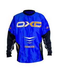 OXDOG GATE GOALIE SHIRT blue XS (padding) - Brankářský dres