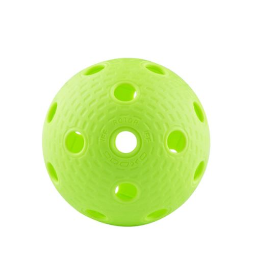 Florbalový míček Oxdog ROTOR bright green