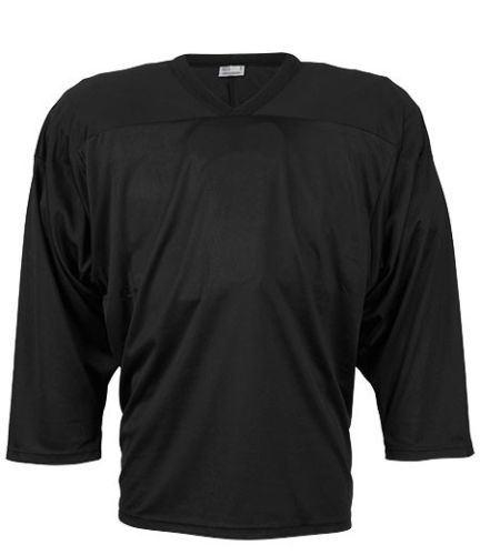 CCM JERSEY 10200 black senior - Dresy