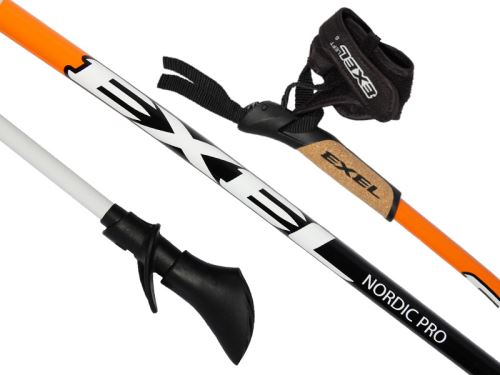 EXEL NORDIC PRO CURVE orange/black/white
