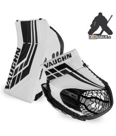 SET VAUGHN BLOCKER + CATCHER VELOCITY VE8 PRO black - REG