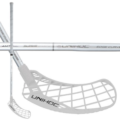 UNIHOC STICK EPIC EDGE Curve 1.0o 26 silver/bl 100cm L - florbalová hůl