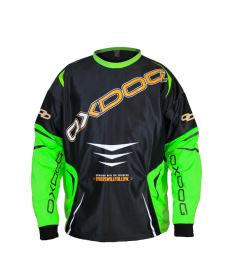 OXDOG GATE GOALIE SHIRT black/green  XL - Brankářský dres