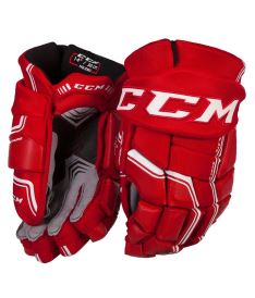 Hokejové rukavice CCM QUICKLITE 290 red/white senior - 14
