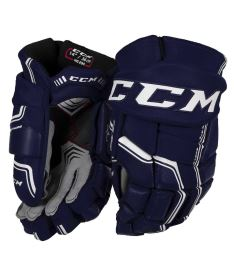 Hokejové rukavice CCM QUICKLITE 290 navy/white senior - 14""