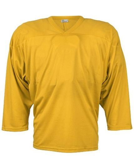 CCM JERSEY 10200 yellow senior - L - Dresy