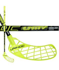 UNIHOC STICK UNITY FEATHER LIGHT 26 yellow/black100cm