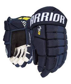 """Hokejové rukavice WARRIOR DYNASTY AX2 navy - 14"""""""