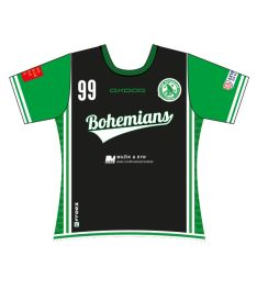 FREEZ JERSEY SUBLI LADIES - FBŠ BOHEMIANS 19 - A - black/green