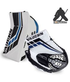 SET VAUGHN BLOCKER + CATCHER VELOCITY VE8 PRO blue - REG