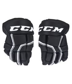 Hokejové rukavice CCM QUICKLITE 250 black/white junior