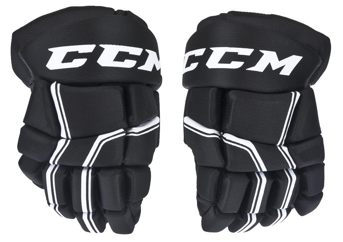 baf1e61a3 Hokejové rukavice CCM QUICKLITE 250 black/white junior