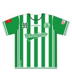 FREEZ JERSEY SUBLI KID - FBŠ BOHEMIANS 19 - white/green