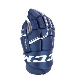 Hokejové rukavice CCM QUICKLITE 250 navy/white junior