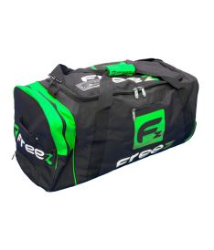 Sportovní taška na kolečkách FREEZ Z-180 WHEEL BAG BLACK-GREEN