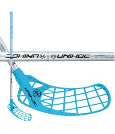 UNIHOC STICK ICONIC Curve 1.5° 35 blue/silver 83cm