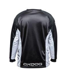 OXDOG XGUARD GOALIE SHIRT white/black, padding  L - Brankářský dres