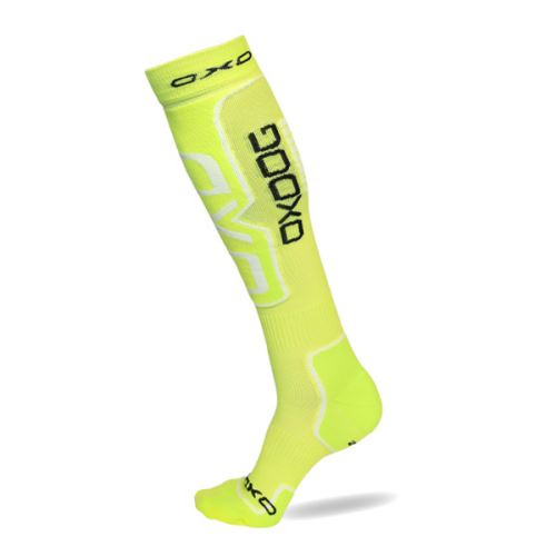 Kompresní ponožky OXDOG COMPRESS SOCKS neon yellow