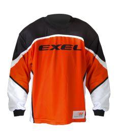 EXEL S100 GOALIE JERSEY orange/black M - Brankářský dres