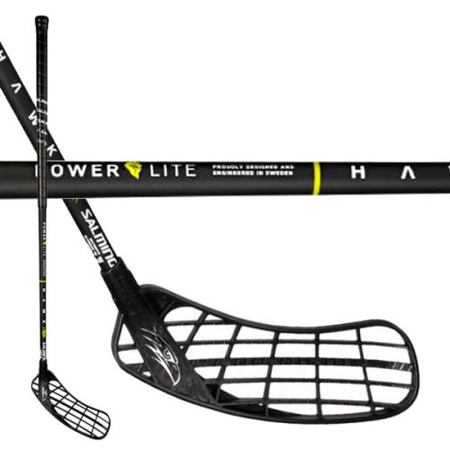 SALMING Hawk PowerLite Oval KickZone Black 100 (111cm)