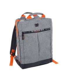 OXDOG COACHBAG GREY/ORANGE